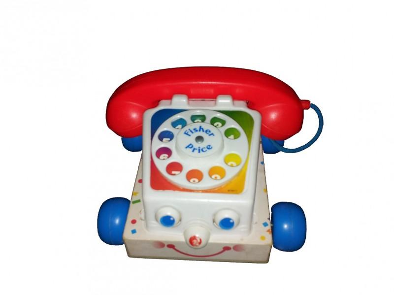 Retro Fisher Price telefoon