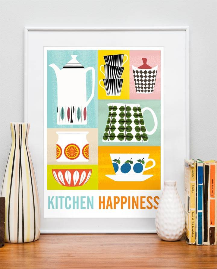 Poster Kitchen Happiness (foto van IPPYS)