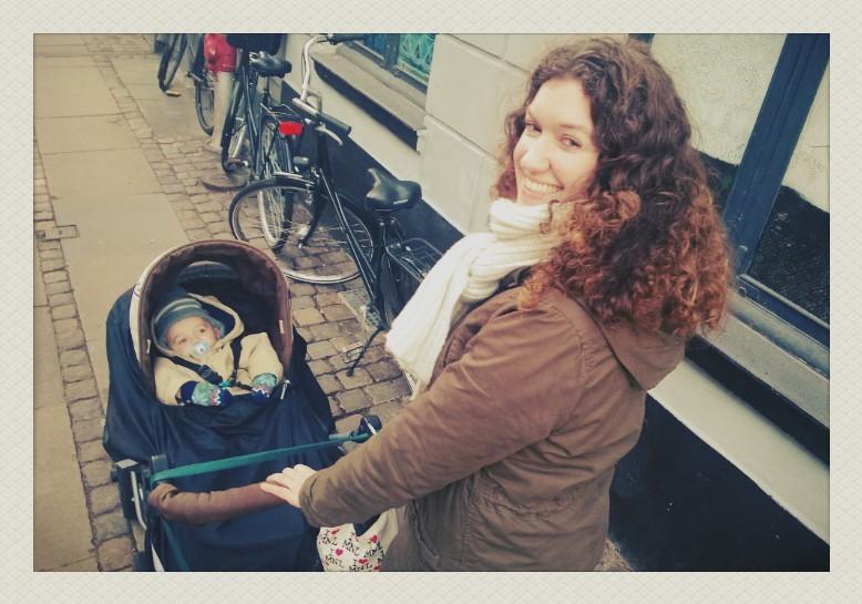 M'n boy en ik in Kopenhagen