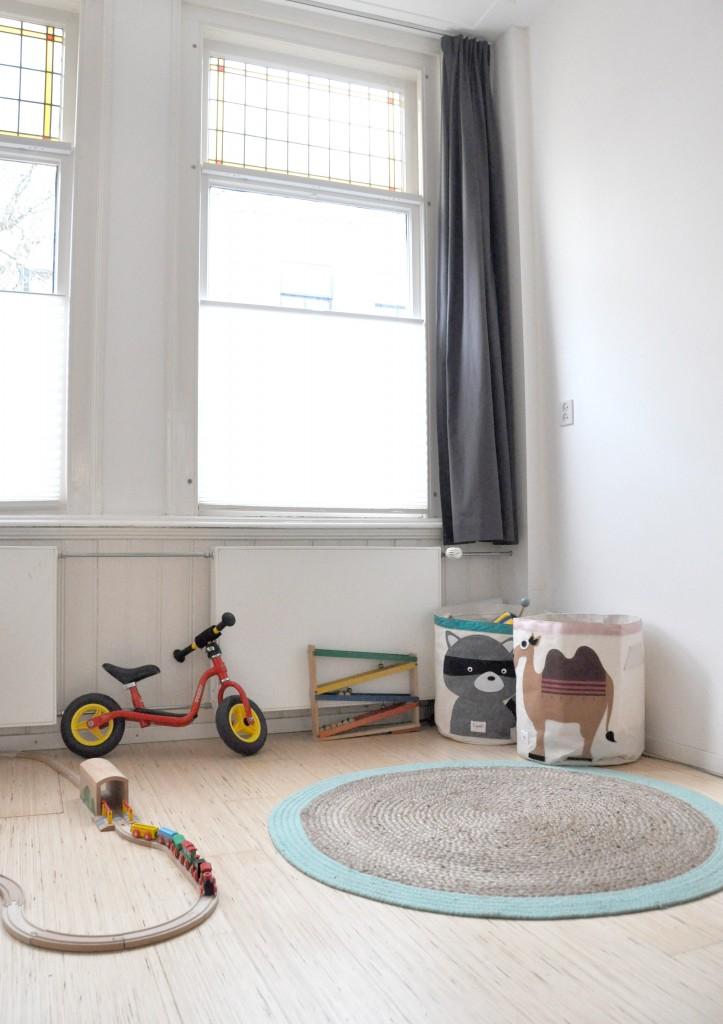 Hippe speelhoek voor kinderen en baby's