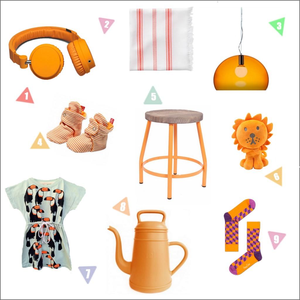Shoptip: 9x oranje