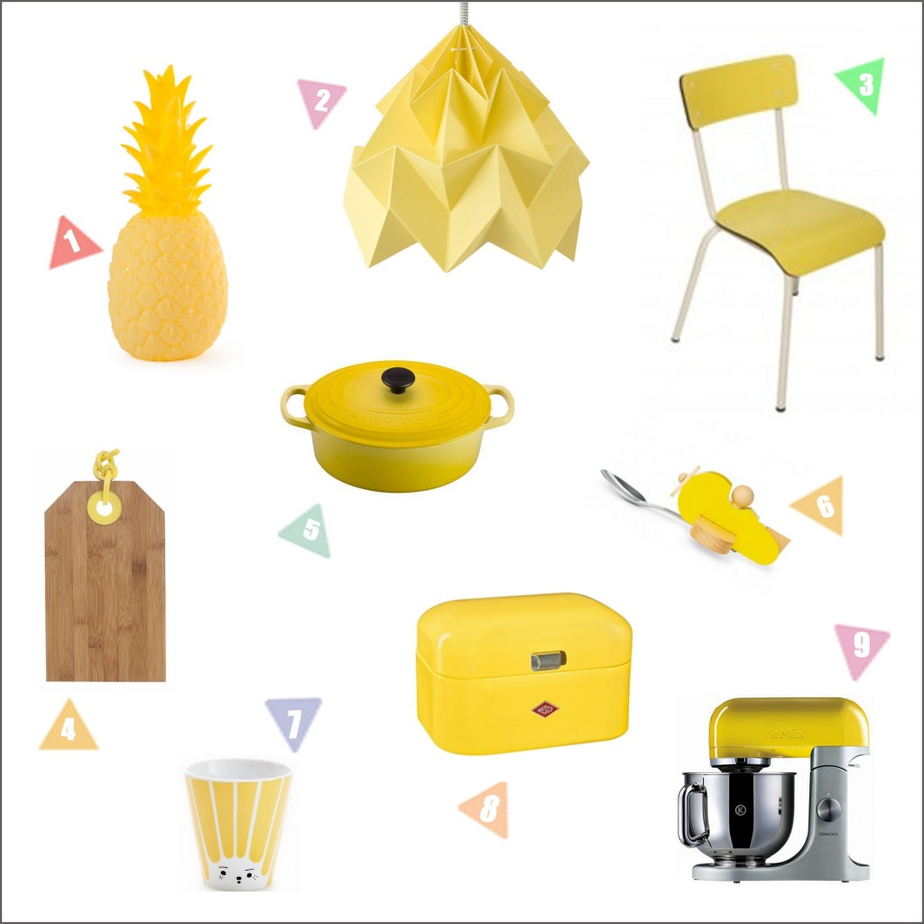 Zonnig geel in je keuken
