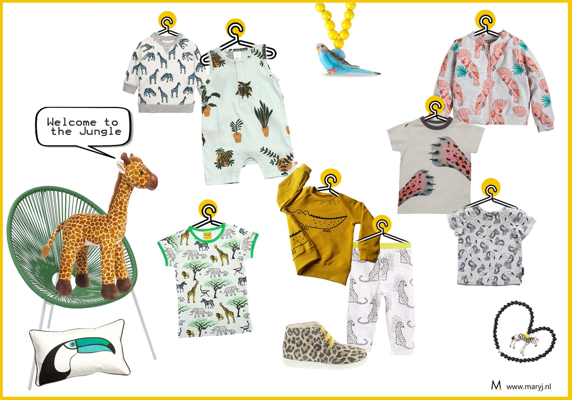 Kinderkleding inspiratie welcome to the jungle Mary J. 2