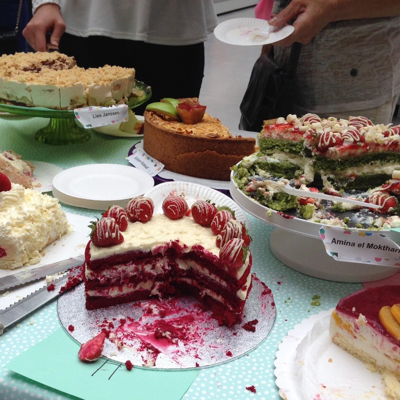 winnende taart