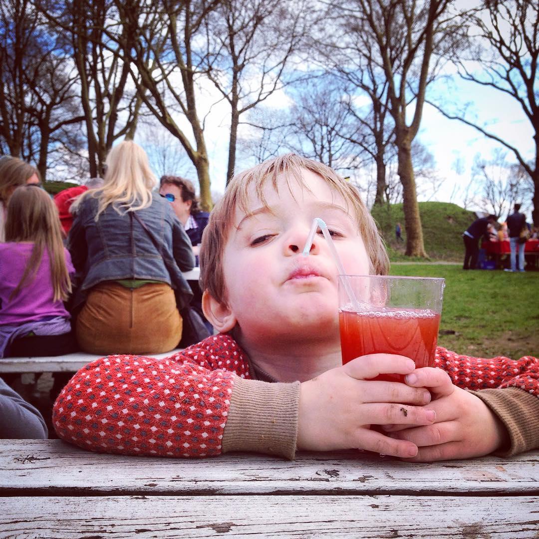 Kinderfotografie achtergrond rustig