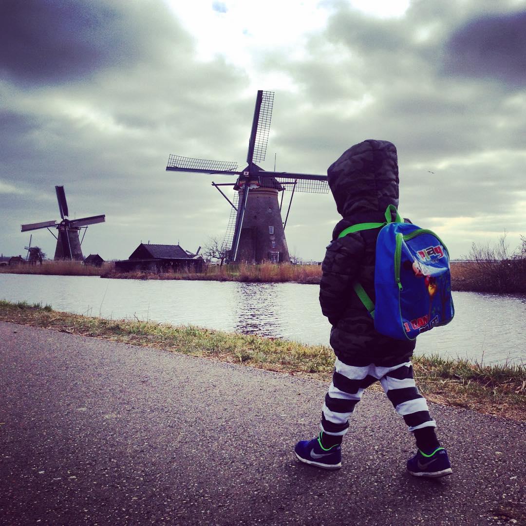 Kinderfotografie onherkenbaar