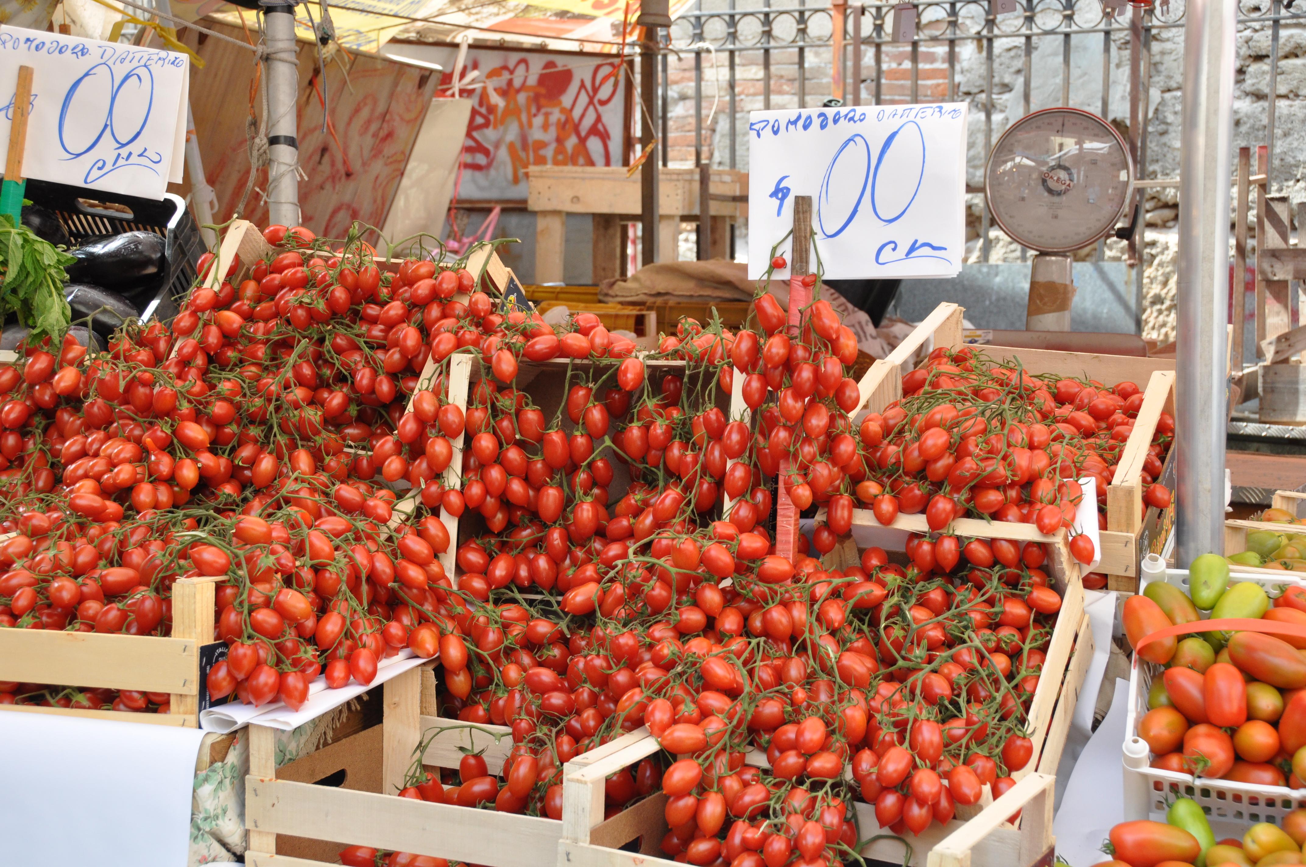 Palermo Sicilie Markt