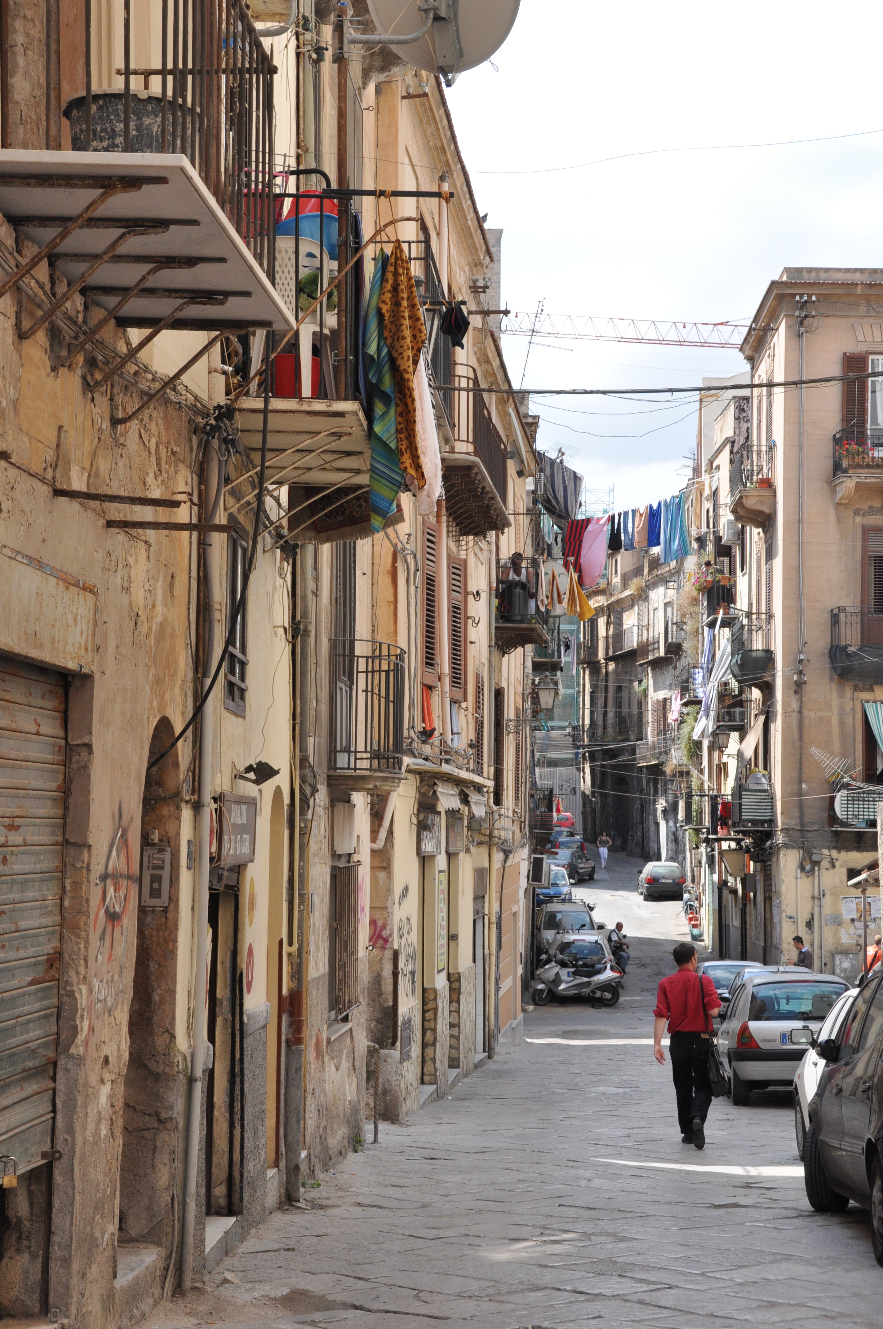 Palermo Sicilie straatbeeld