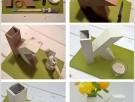 DIY: Lettervaas van kartonnen letter Xenos