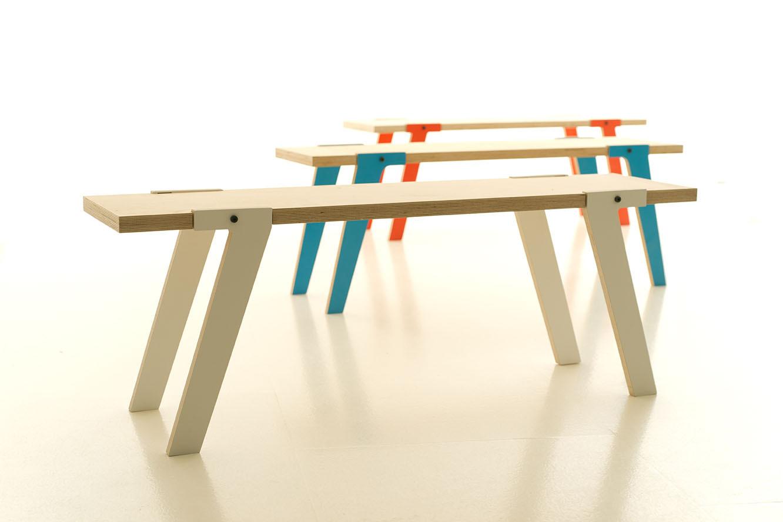 Stoer houten bankje Switch Bench – betaalbaar design