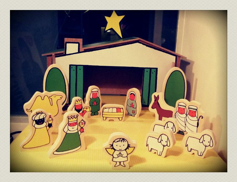Supercute kerststal van Dick Bruna