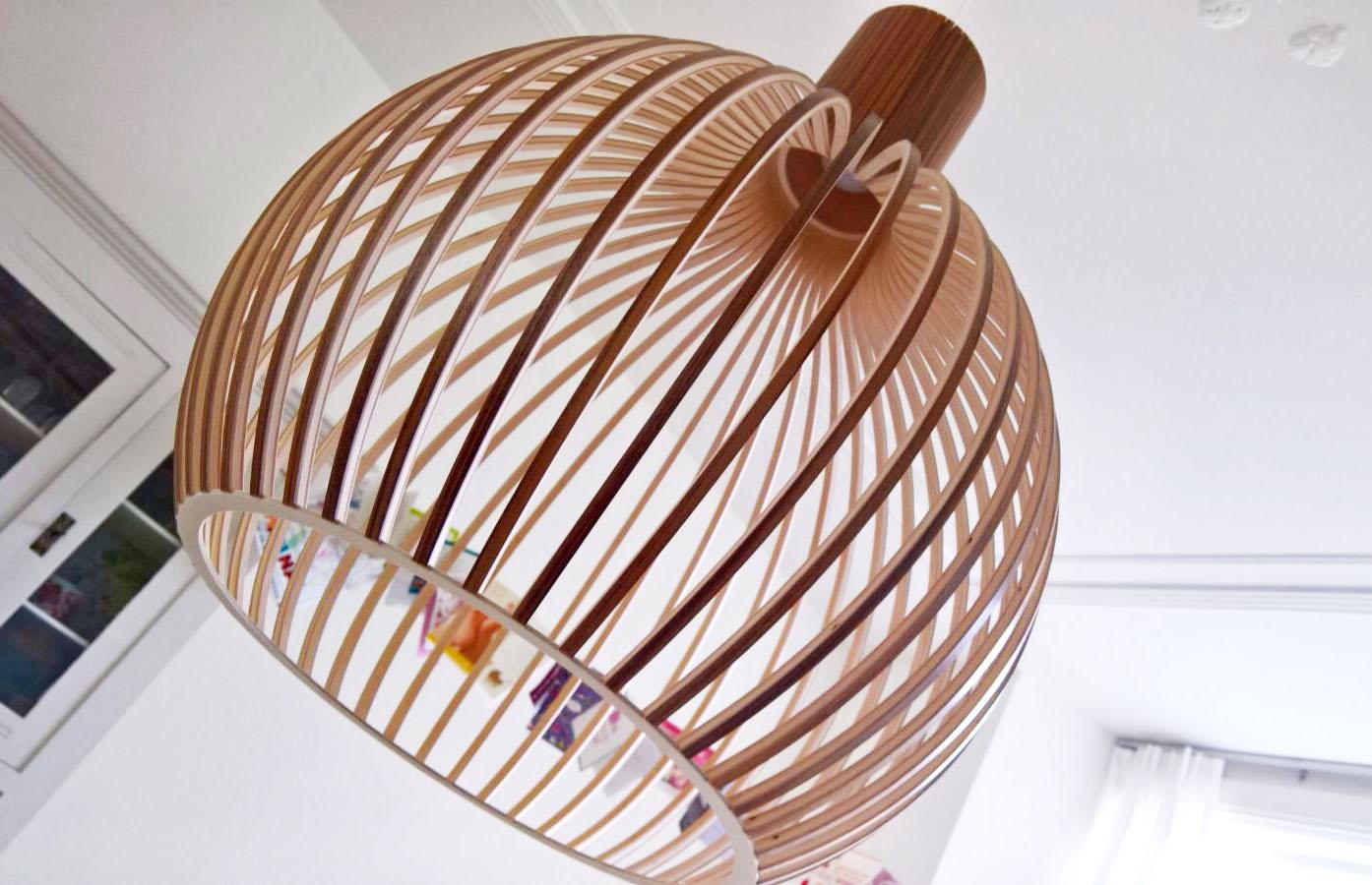 Shoptip: Prachtige houten lampen van Secto Design