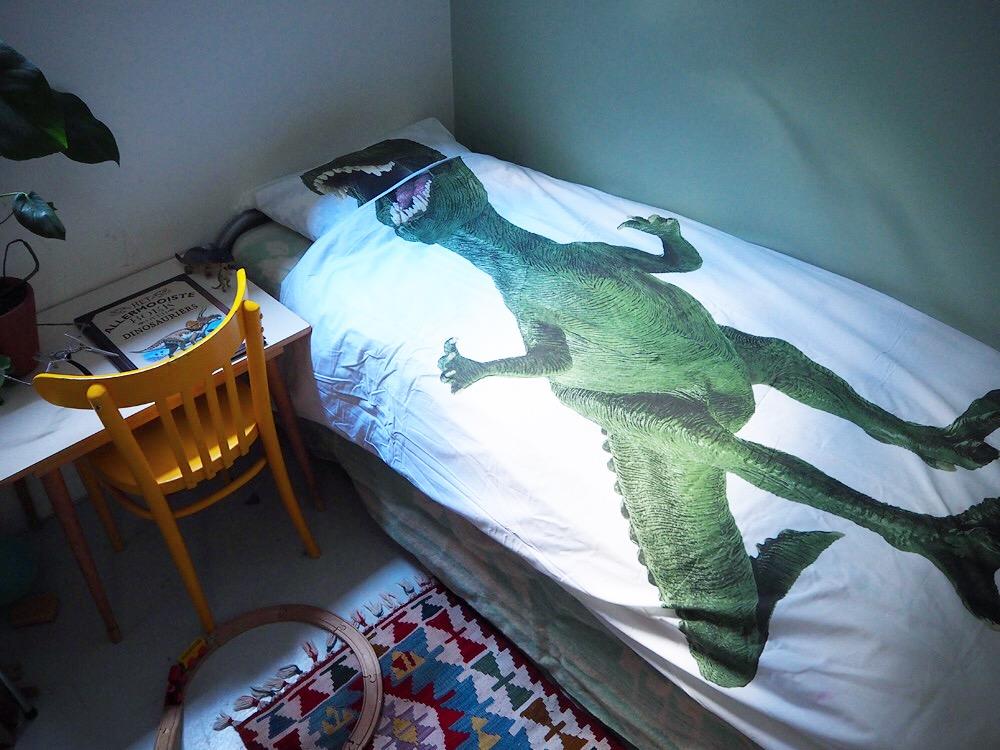T-rex dekbed van Snurk: voor wie het aandurft :)