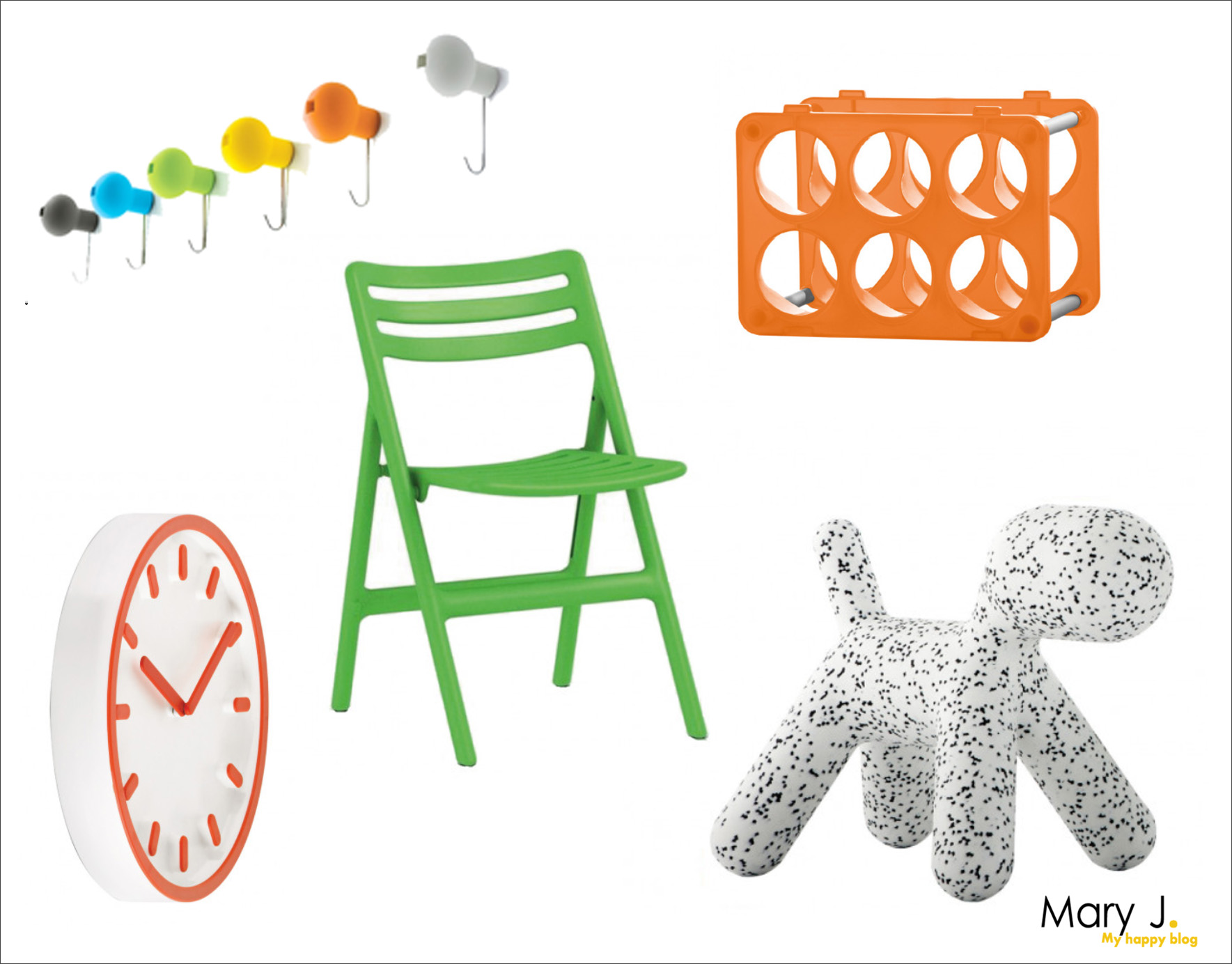 Shopinspiratie: Magis, design met een vrolijke touch