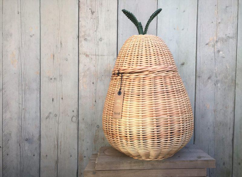 Toffe opbergmand 'Pear' van Ferm Living + WINACTIE (gesloten)